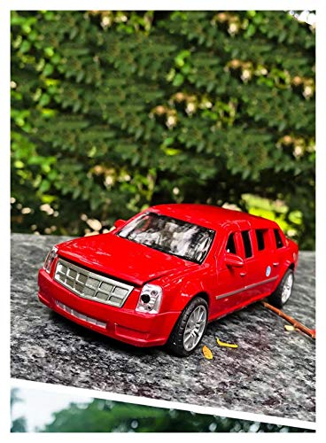 HCEB Diecast Model Car 1:32 For Presidential Cadillac Metal Car to-y Alloy Car Diecasts to-y Vehicles Car Model to-ys For Children Boy Girl Gift Car Model (Color : 2)