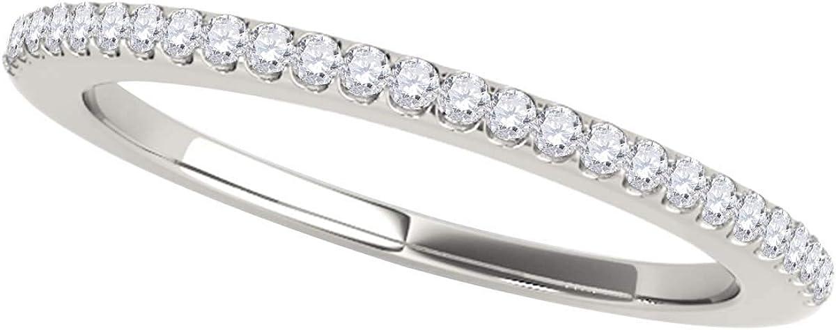 MauliJewels 0.14 OFFer Carat Max 87% OFF Halo Round Diamond f Band Wedding Antique