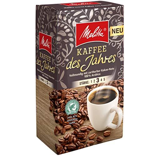 Melitta Gemahlener Röstkaffee, Filterkaffee, vollmundig mit Sanfter Feigen-Note, mittlerer Röstgrad, Stärke 3, 12er Pack (12 x 500 g)