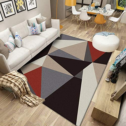 Nordic Modern Minimalist Non-Slip Floor Mats Rectangular Washable Living Room Sofa Coffee Table Bedroom Hotel Party Party Carpet