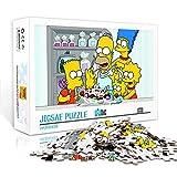 1000 Jigsaw Puzzle Game The Simpsons Juego De Descompresión Relax The Mood Calm The Mood 1000 Piezas Juego De Rompecabezas 75 * 50Cm