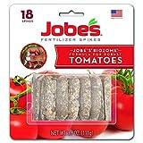 Jobe's Tomato Fertilizer Spikes, 6-18-6 Time Release Fertilizer for All Tomato...