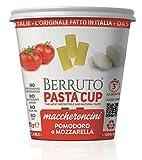 Pasta Berruto Maccheroncini Con Tomate Y Mozzarella Queso 700 g