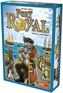 Port Royal   2-5 Players   Official Version   English and Arabic Language   Family Game For Ages 8+   Board Game - Strateg...