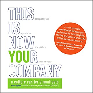 Couverture de This Is Now Your Company