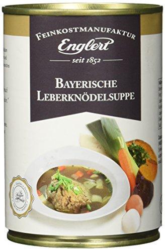 ENGLERT Bayrische Leberknödelsuppe/Dose, 3er Pack (3 x 390 ml)