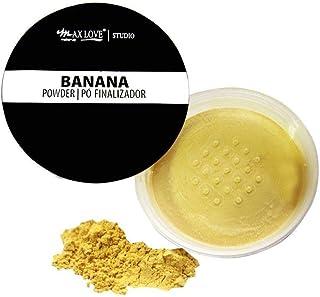 Pó Facial Banana Powder Finalizador 1, Max Love
