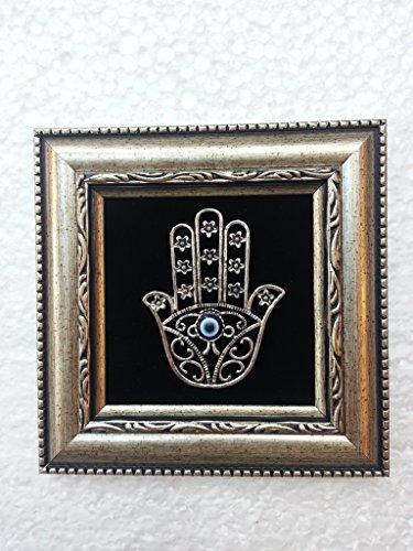 hand von Fatima Nazar Boncuk blaues Auge duvar süsü nikah sekeri bebek sekeri