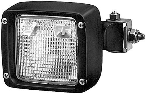 Hella 1GA 996 083-001 Arbeitsscheinwerfer - Ultra Beam - FF/Halogen - H3 - 12V/24V - AMP-Anschluss/Anbau/Einbau/Steckanschluss - Bodenausleuchtung - AMP
