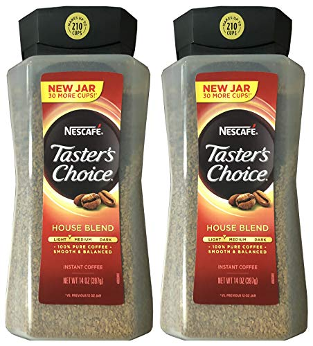 Taster#039s Choice Original Gourmet Instant Coffee 14 Oz Pack of 2