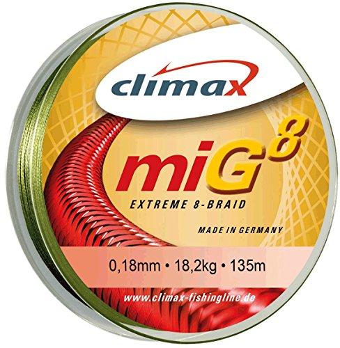 CLIMAX- miG 8 Oliv-grün 0,14mm, 135m