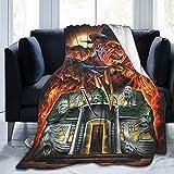 Freddy Krueger Blankets Ultra-Soft Flannel Throw Blanket Warm Fuzzy Lightweight Blanket,Fluffy Cozy Plush Fleece Comfy Blanket for Couch Sofa Bed 60'X50'