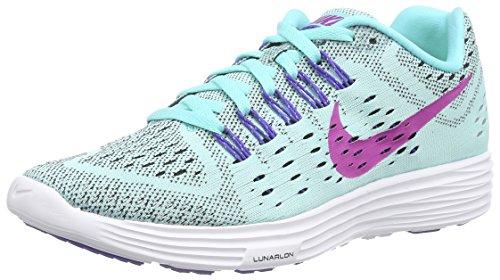 Nike Nike Lunartempo - Zapatillas para Mujer, Color Turquesa (Light aquamarin/persisches Violett/weiß/fuchsiablitz 401), Talla 36.5
