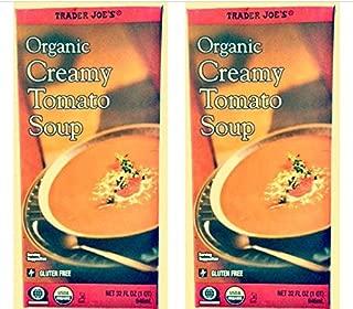 2 Boxes of Trader Joe's Organic Creamy Tomato Soup - Gluten Free