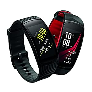 Samsung Gear Fit2 Pro Smartwatch Fitness Band (Small), Diamond Red, SM-R365NZRNXAR - US Version with Warranty