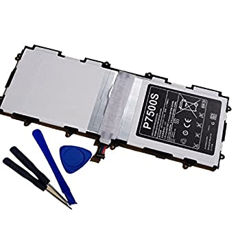 Ammibattery Replacement Battery for Samsung Galaxy Tab 2 10.1 P7510 SCH-I915 SGH-I497 SGH-I497 AT&T 7000mah