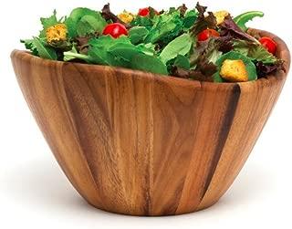 Acacia Wood Large Salad Serving Bowl