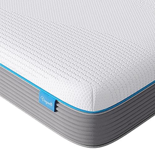 Vesgantti Twin XL Mattress | 10 Inch Memory Foam Innerspring Hybrid Mattresses | Hypoallergic Ag+ Infused | CertiPUR-US Certified |...