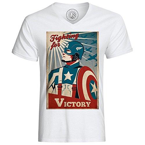 Fabulous T-Shirt Captain America Avengers Vintage