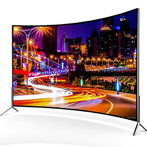 LTINN Curved TV, Ultra-Thin 4K Resolution up to 3840×2016, Wireless Projection Screen, 17mm Slim Body, high-Strength Tempered Glass, Durable