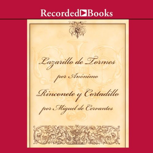 El Lazarillo de Tormes/Rinconete Y Cortadillo audiobook cover art