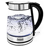 Best Glass Electric Kettles - Zeppoli Electric Kettle - Glass Tea Kettle (1.7L) Review