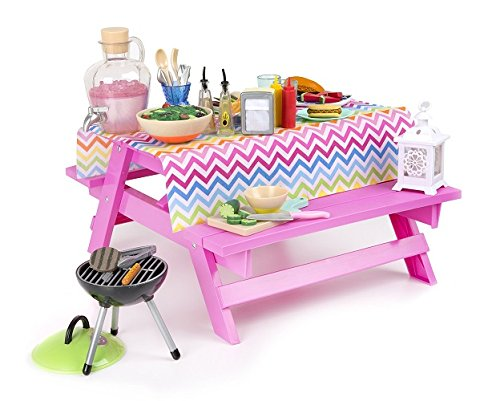 Our Generation Fun and Adventure Picnic Table Set