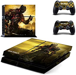 Hambur? PS4 Console Designer Skin for Sony PlayStation 4 System plus Two(2) Decals for: PS4 Dualshock Controller --- Dark Souls 3 by Hambur [並行輸入品]