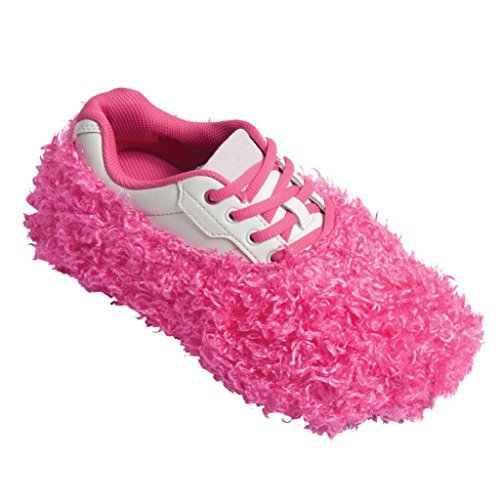 Robby's Fuzzy Shoe Covers- Pink, One Size Fits Most