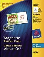 ave8374–インクジェット磁気ビジネスカード