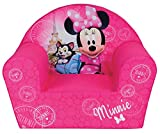 Fun House 712810 Disney Minnie Paris - Poltrona in schiuma per bambini, 52 x 33 x 42 cm