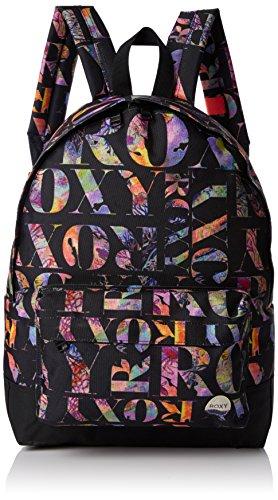 Roxy Sugar Baby - Mochila casual, color negro, 16 litros, 40 cm