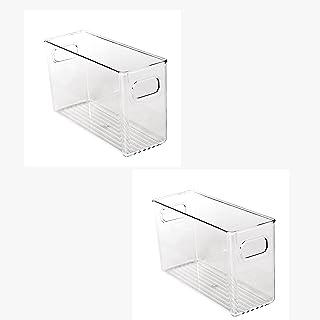 WYJRF Boîte de Rangement pour réfrigérateur,Organisateur frigo,Plateau de Rangement pour réfrigérateur de qualité Alimenta...