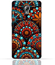Lenovo Vibe P1 TPU Silicone Case With Geometrical Madalas Pattern Design