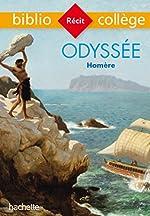 Bibliocollège - Odyssée, Homère de Homère
