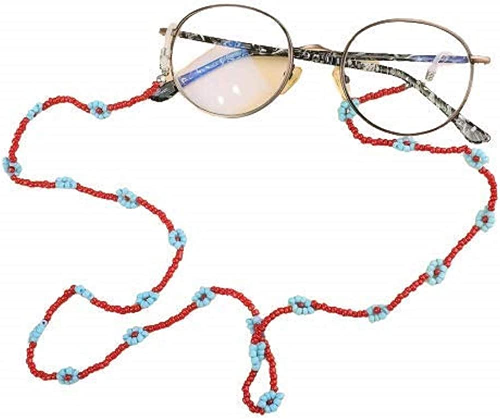 HAS Mountain - Bead Max 68% OFF Daisy Colorful Flower Chains Sunglasses Free shipping anywhere in the nation