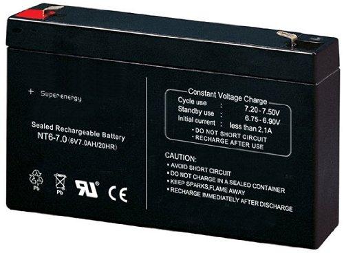 crooza Universal 6V7Ah 6V 7Ah Akku Batterie für Kinderfahrzeuge
