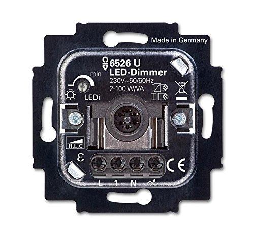 Busch-Jaeger LED-Dimmer 6526 U mit Tastbetätigung Busch-Dimmer Dimmer