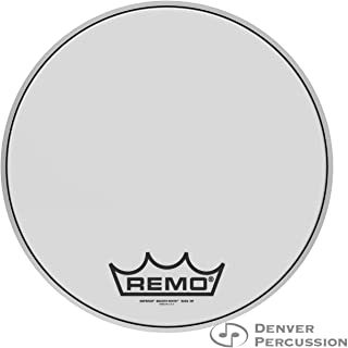 Remo BB-1216-MP 16-Inch Emperor Marching Bass Drum Head, Smooth White