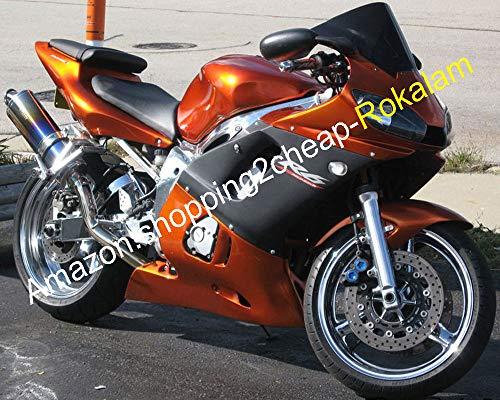 Pour Pièces Carrosserie Moto YZF R6 YZF-R6 98 99 00 01 02 YZF 600 R6 YZF R6 1998 1999 2000 2001 2002 Carénage ABS (Moulage Par Injection)