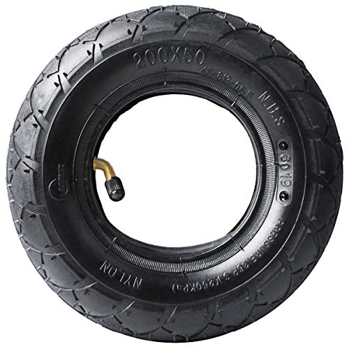 Best Price! Gekufa 200 x 50 Tire & Inner Tube Fit for Razor E100, E150, E200, Power Core E100, Dune ...