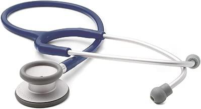 ADC Adscope Lite 609 Ultra Lightweight Clinician Stethoscope, 31 inch Length, Navy