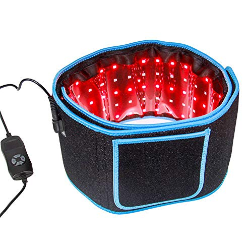 Cinturón de terapia de luz infrarroja para aliviar el dolor Uso en el hogar Dispositivo de masajeador de terapia de envoltura portátil flexible para la espalda Articulaciones del hombro Músculo