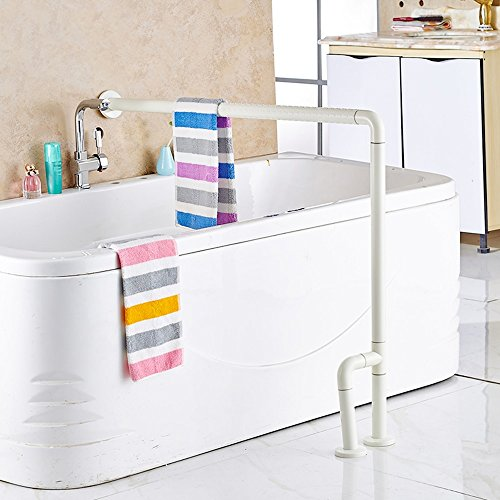 WEBO HOME- Baignoire Accoudoir Salle de bain plus ancienne Baignoire Baignoire accessible Sécurité Rampe en plastique -Main courante de salle de bain