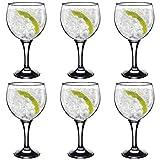 Rink Drink Spanische Gin Tonic-Gläser - 645 ml - 6 Copa-Ballongläser