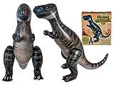 Idealtrend Aufblasbarer Dinosaurier XXL 175cm Party Geschenkidee Deko aufblasbar Dino