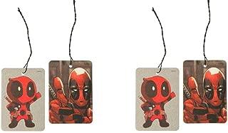 Marvel Deadpool Thumb Up Air Freshener 2pc per pack x 2 (total 4 pcs)