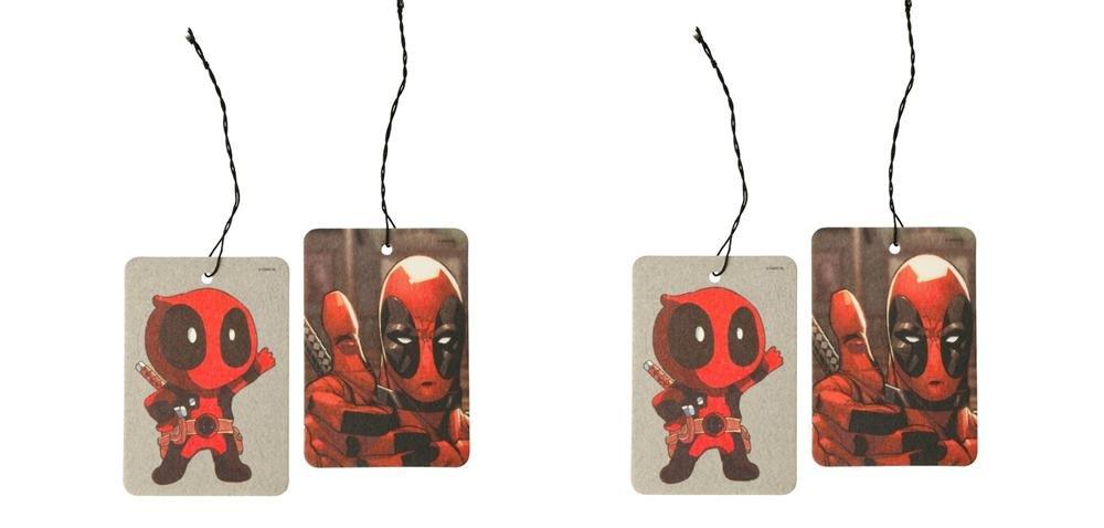 Amazon.es: Marvel Deadpool pulgar Up ambientador 2pieza per Pack x 2 (total 4 pcs)