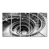 bilderfelix® Bild auf Leinwand Berühmte Wendeltreppe in