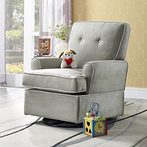 Baby Relax Tinsley Swivel Glider Chair, Nursery Room...